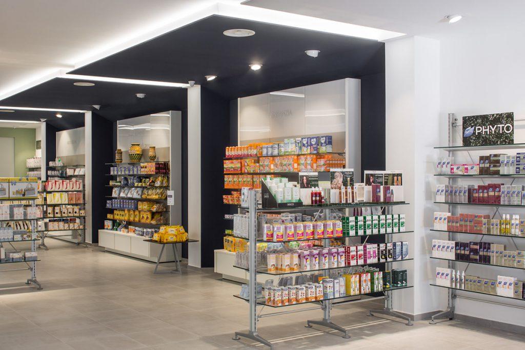 Farmacia Croce Verde dott. Parisi - aree merceologiche