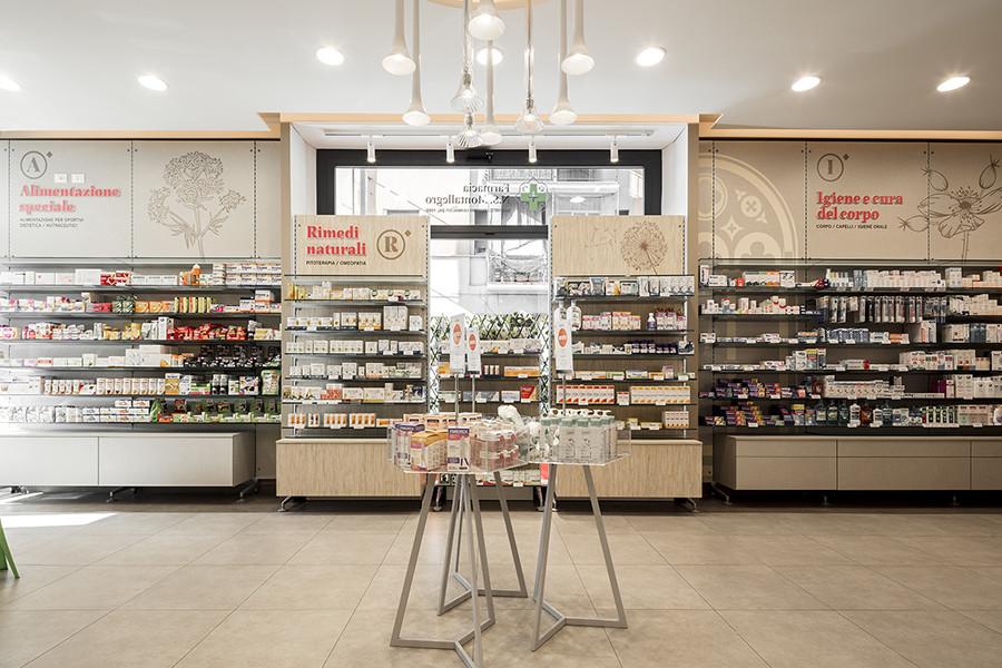 Farmacia N.S. Montallegro, Rapallo (GE) - arredi tecnici