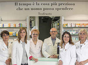 Team Farmacia All'Esculapio dott. Romor